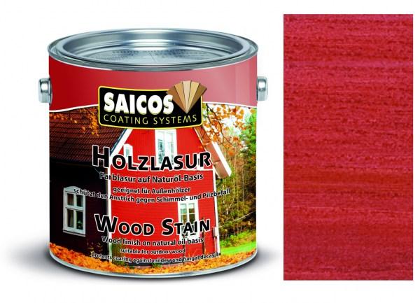 Saicos Holzlasur Schwedenrot 2,5 Liter