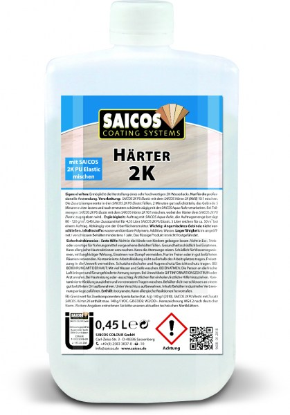 Saicos Zusatz Härter 2K PU-System, 0,45l