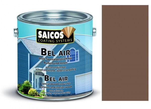 Saicos Bel Air - Spezialanstrich- deckend Graubraun 0,75 Liter