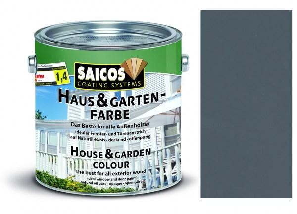 Saicos Haus & Gartenfarbe Granitgrau 0,75 Liter