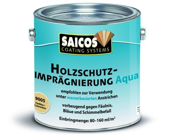 "Saicos Holzschutz-Imprägnierung 9005 ""Aqua"", 0,75l"