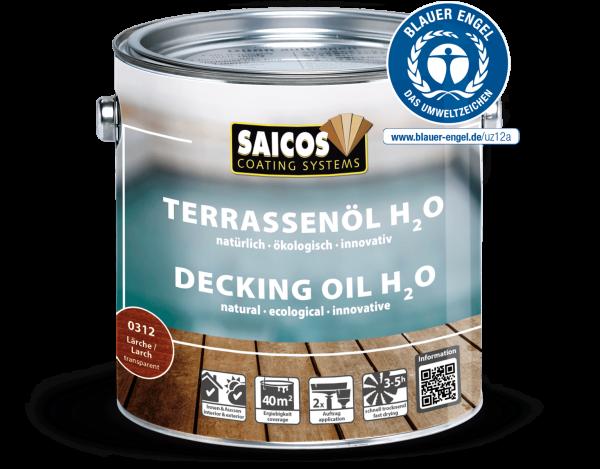 Saicos Terrassenöl H2O Lärche, 0,75l