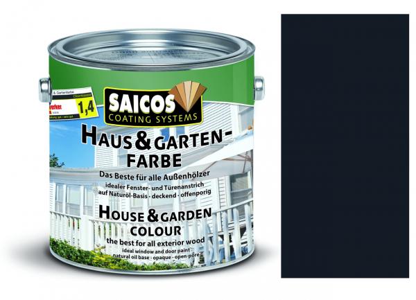 Saicos Haus & Gartenfarbe Anthrazitgrau, 0,75l