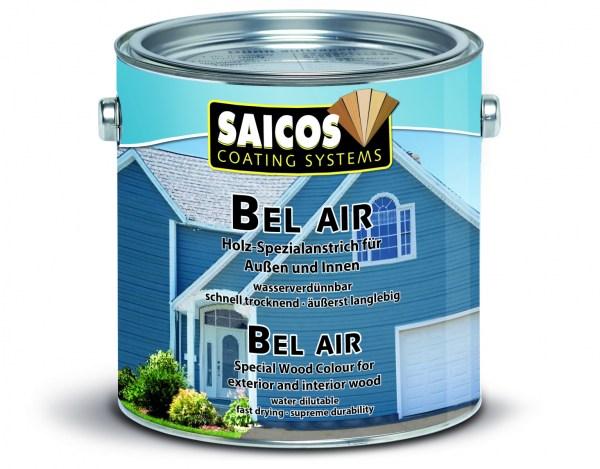 Saicos Bel Air - Spezialanstrich- Perlweiß deckend 2,5 Liter