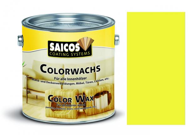 Saicos Colorwachs Zitronengelb, 0,375l