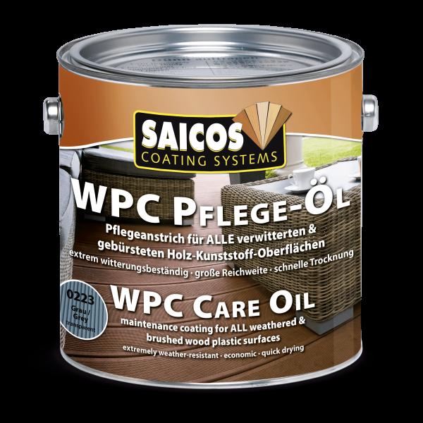 Saicos WPC Pflege-Öl Grau, 2,5l