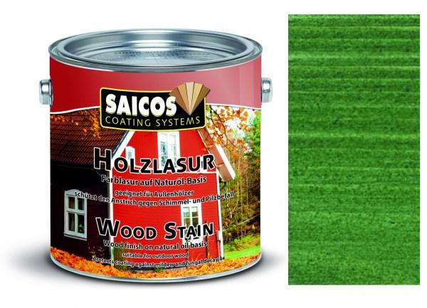 Saicos Holzlasur Tannengrün 2,5 Liter