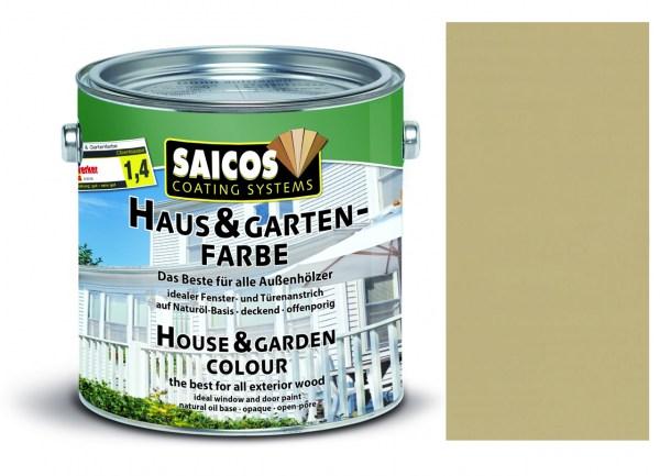 Saicos Haus & Gartenfarbe Sandbeige 2,5 Liter