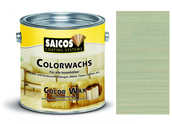 Saicos Colorwachs Silbergrau transparent, 0,375l