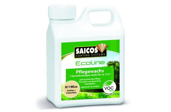Saicos Ecoline Pflegewachs farblos 10 Liter