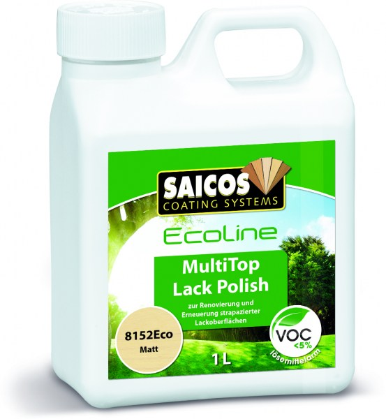 Saicos Ecoline MultiTop Lack Polish matt, 1,0l
