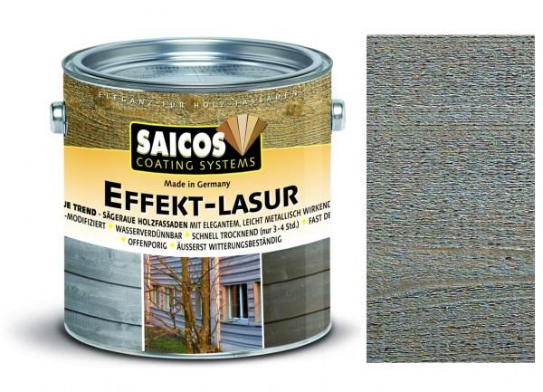Saicos Effekt-Lasur Effekt-Silber transparent, 2,5l