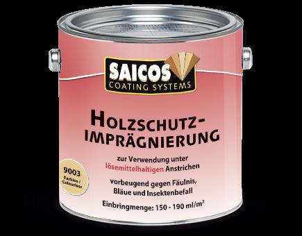 Saicos Holzschutz-Imprägnierung 9003, 2,5 Liter