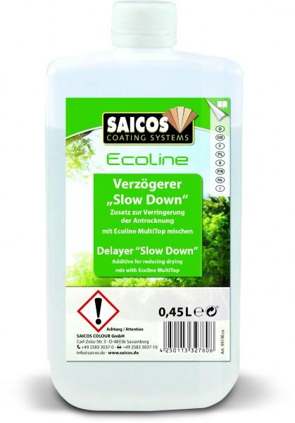 """Saicos Ecoline Zusatz Verzögerer """"Slow Down"""", 0,45l"""