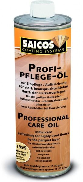 Saicos Profi-Pflege-Öl seidenmatt, 1,0l