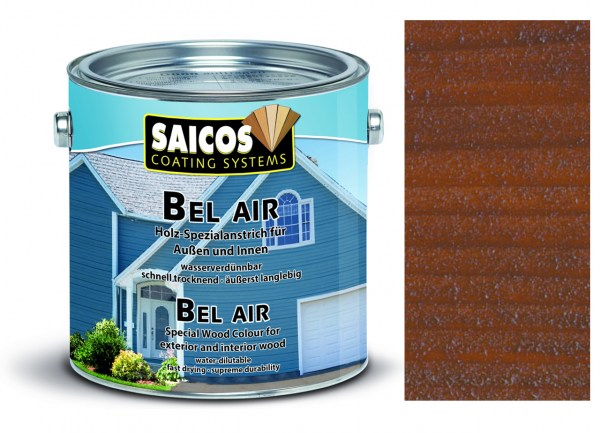 Saicos Bel Air - Spezialanstrich- transpa. Nussbaum 0,75 Li