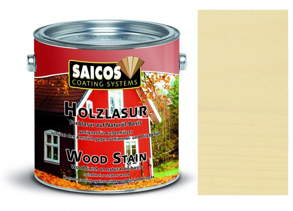 Saicos Holzlasur Fichte 2,5 Liter