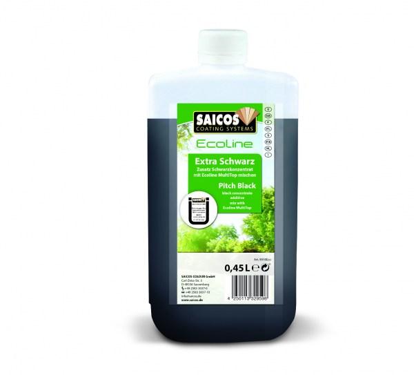 Saicos Ecoline Zusatz Extra Schwarz, 0,45l