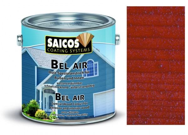 Saicos Bel Air - Spezialanstrich- transparent Mahagoni 2,5 Liter