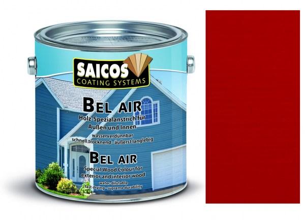 Saicos Bel Air - Spezialanstrich- deckend Rubinrot, 2,5 Liter