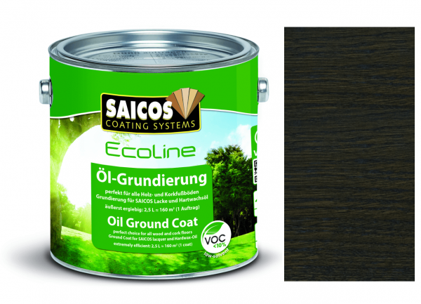 Saicos Ecoline Öl-Grundierung Antikgrau transparent