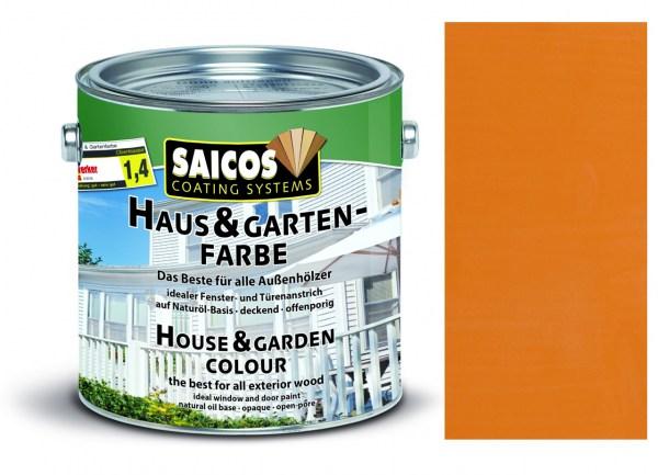 Saicos Haus & Gartenfarbe Fichtengelb 2,5 Liter