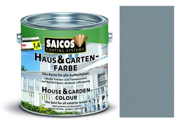 Saicos Haus & Gartenfarbe Felsengrau 0,75 Liter