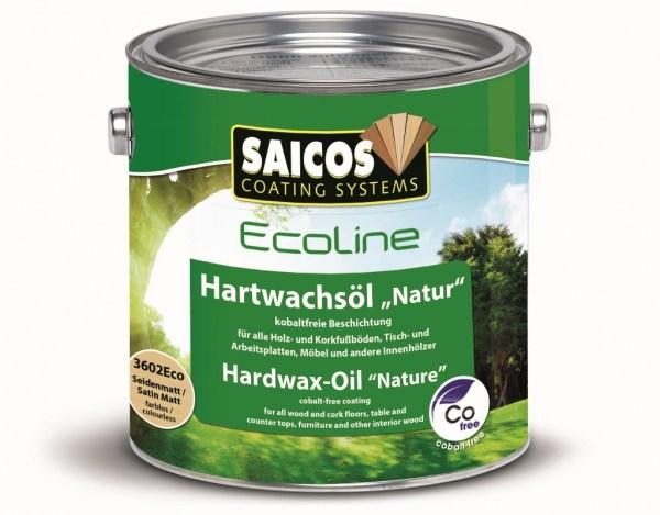 "Saicos Ecoline Hartwachsöl ""Natur"" matt"