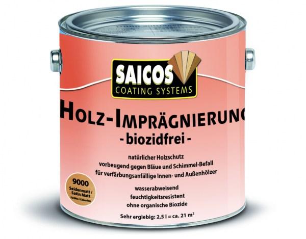 Holz-Imprägnierung biozidfrei seidenmatt farblos, 2,5l