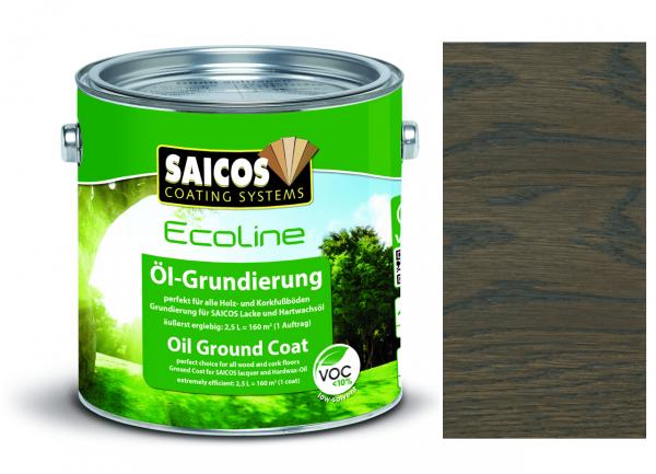 Saicos Ecoline Öl-Grundierung Graphit transparent, 2,5l