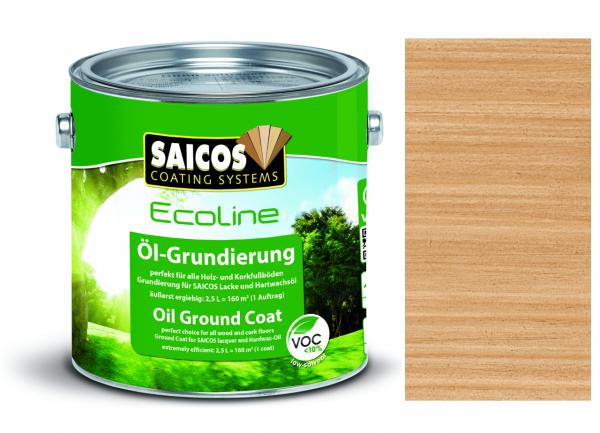 Saicos Ecoline Öl-Grundierung Kastanie transparent, 2,5l