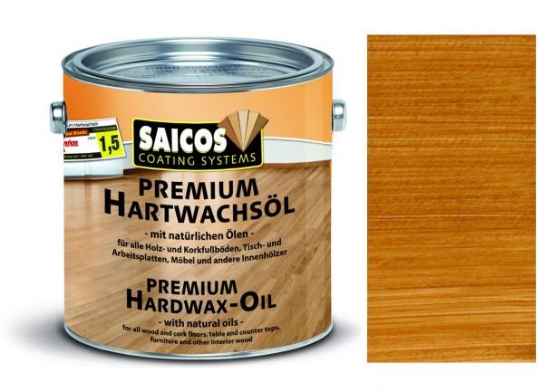 Saicos Premium Hartwachsöl Teak transparent matt