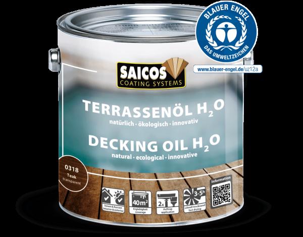 Saicos Terrassenöl H2O Teak, 0,75l