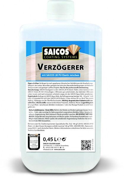 Saicos Zusatz Verzögerer für PU-System, 0,45l
