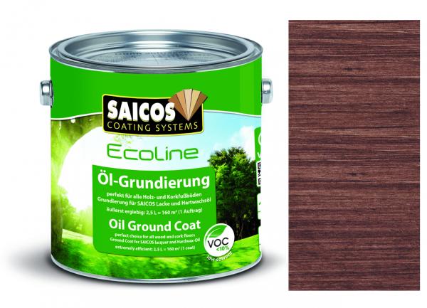 Saicos Ecoline Öl-Grundierung Palisander transparent,2,5l