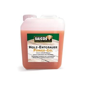 Saicos Holz-Entgrauer Power-Gel, 2,5 Liter