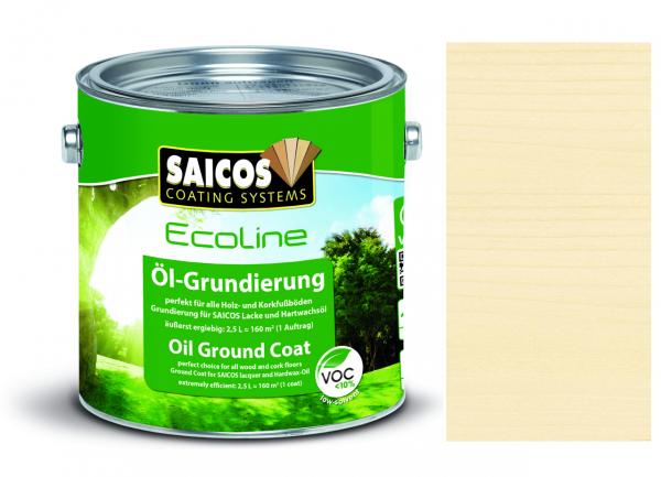 Saicos Ecoline Öl-Grundierung farblos transparent, 2,5l