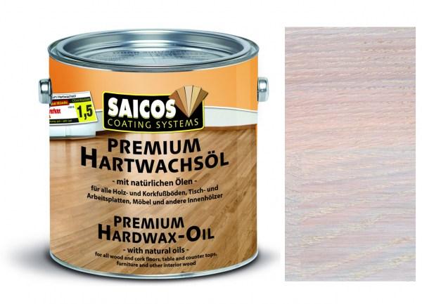 Saicos Premium Hartwachsöl weiß transparent