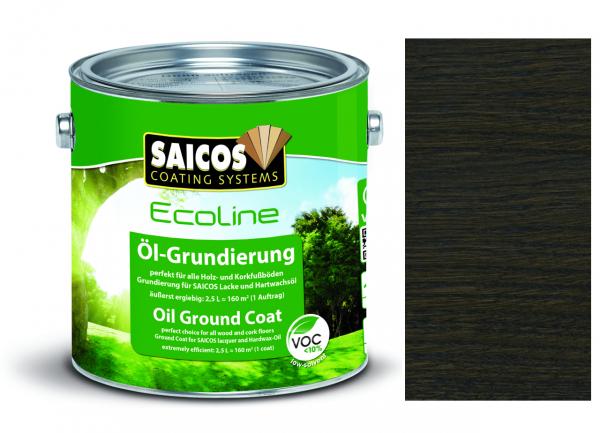 Saicos Ecoline Öl-Grundierung Antikgrau transparent, 2,5l