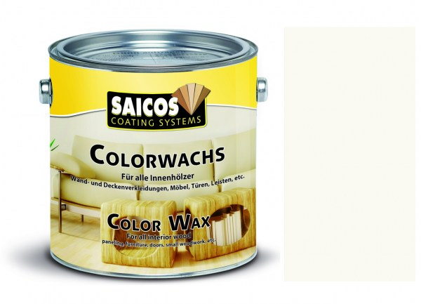 Saicos Colorwachs Birke transparent, 0,375l
