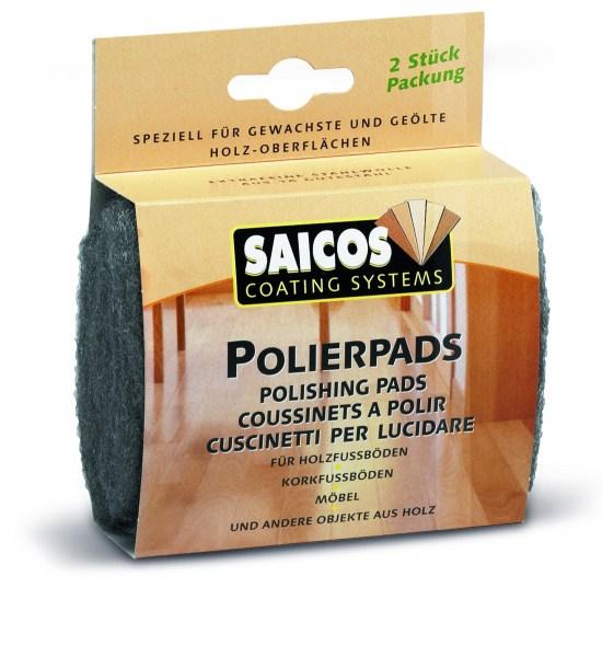 Saicos Polierpads, 2 Stück/Packung