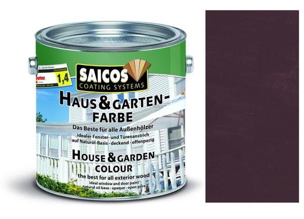 Saicos Haus & Gartenfarbe Terrabraun 2,5 Liter
