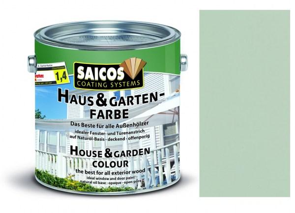 Saicos Haus & Gartenfarbe Achatgrau 0,75 Liter