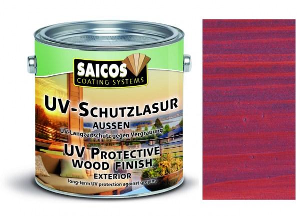Saicos UV-Schutzlasur aussen mahagoni, 0,75 Liter