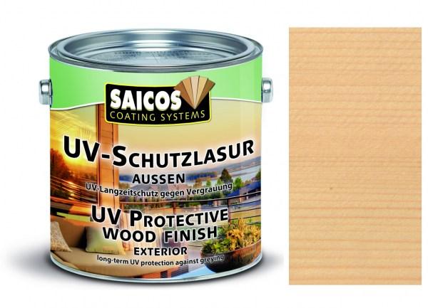 Saicos UV-Schutzlasur aussen farblos, 2,5 Liter