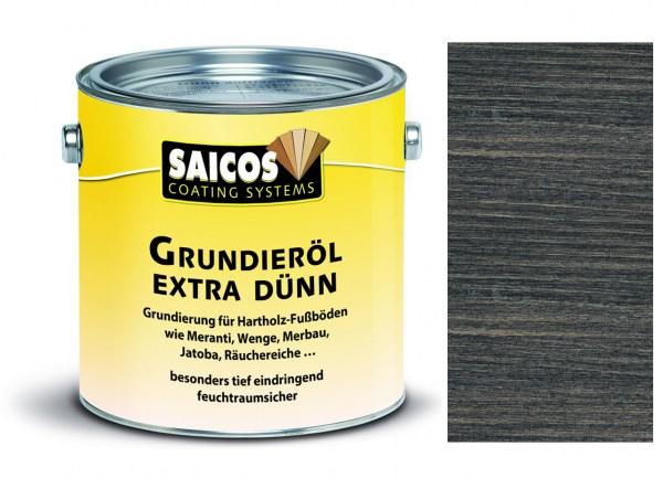 Saicos Grundieröl Extra Dünn schwarz transparent