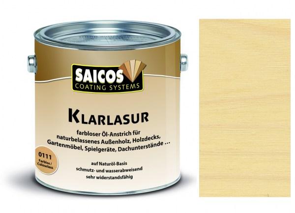 Saicos Klarlasur farblos 2,5 Liter