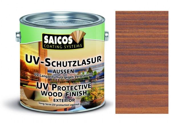 Saicos UV-Schutzlasur aussen nussbaum transparent, 2,5 Liter