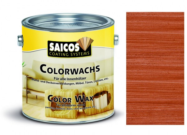Saicos Colorwachs Mahagoni 2,5l