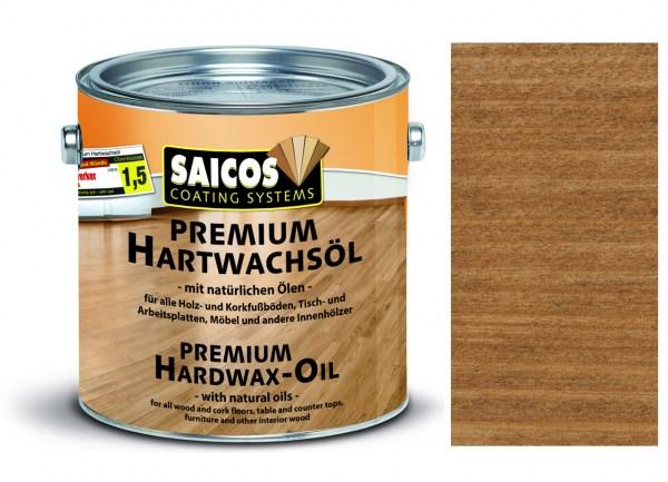Saicos Premium Hartwachsöl Nußbaum transparent matt, 2,5l